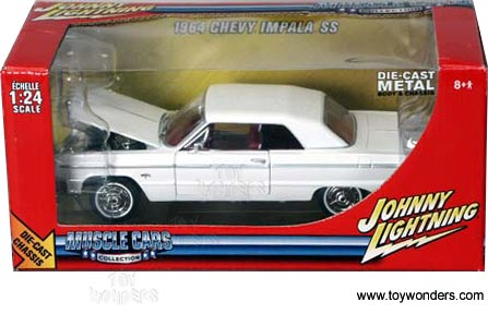1964 Chevy Impala Ss 1//24 Johnny Lightning Muscle Cars Collection