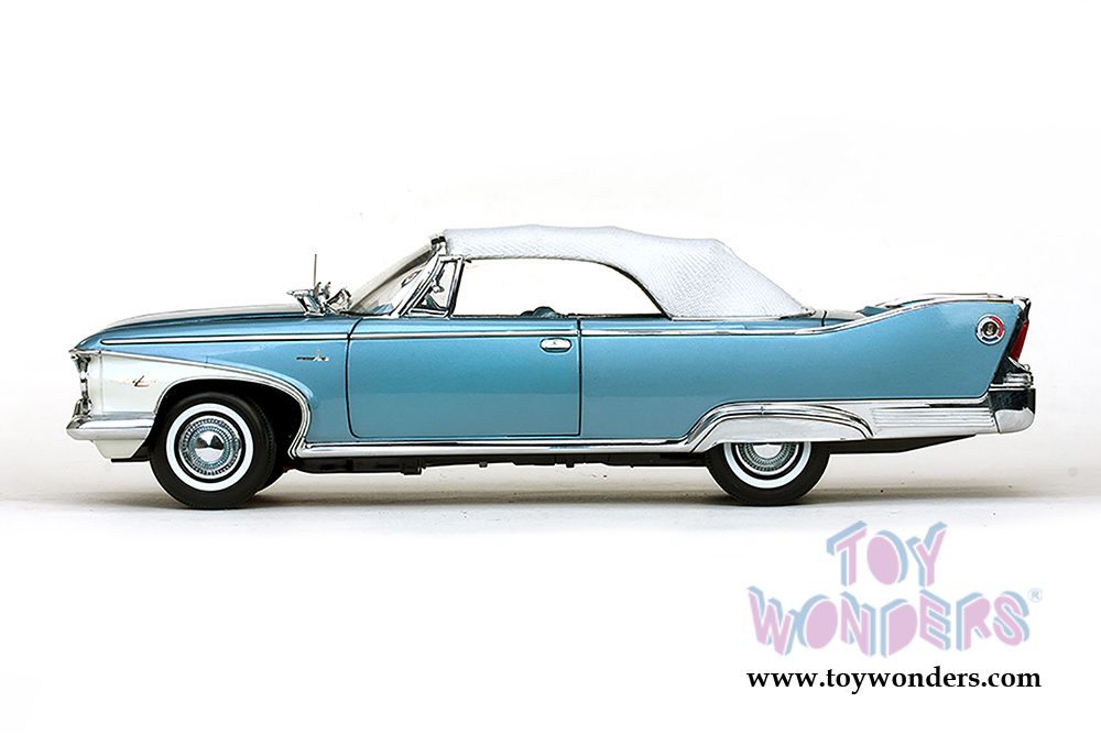 1960 Plymouth Fury Closed Convertible 5412 1 18 Scale Sun Star
