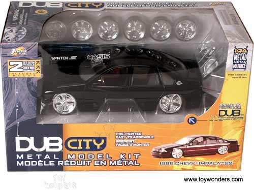 1996 Model Kit Chevy Impala SS By Jada Toys Dub City 124