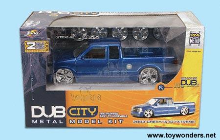 2003 Model Kit Chevy S10 Extreme By Jada Toys Dub City 1 24 Scale