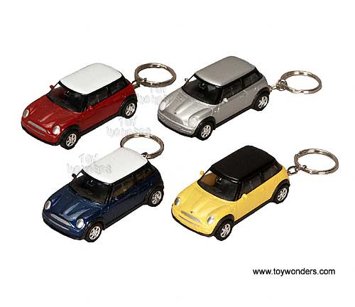 Diecast Collector Model Cars Welly Mini Cooper Key Chains 1 60