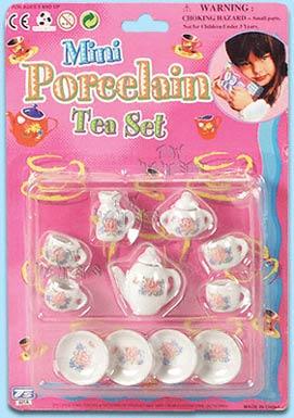 Mini Porcelain Tea Set