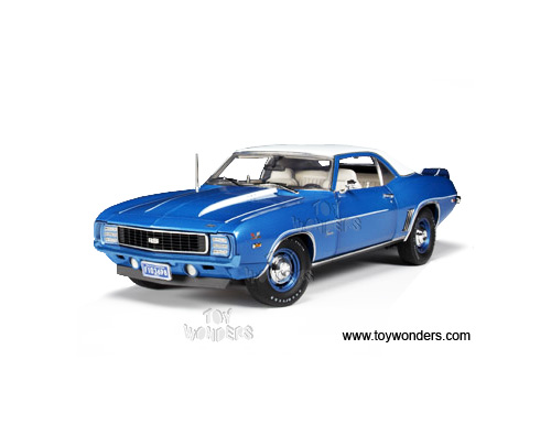 Highway 61 - Chevy Camaro ZL-1 COPO RS Hard Top (1969, 1:18, LeMans Blue) 60164