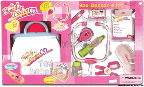 d68290a82d6c3 My Family Doctor (9-Piece) 6391 - Toy Wonders