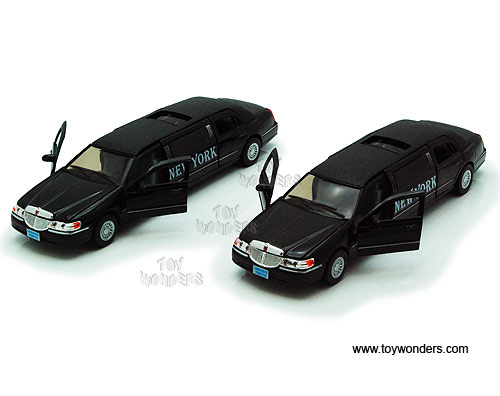 1999 Nyc Lincoln Town Car Stretch Limo 7001kny 1 38 Scale Kinsmart
