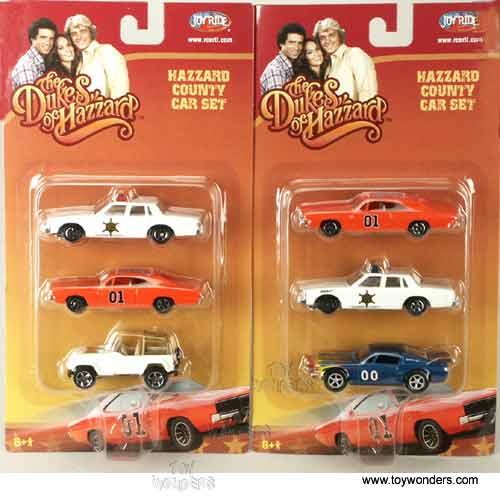 The Dukes Of Hazzard County Car Set (1:64