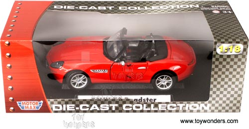 Bmw Z8 Roadster Convertible By Motormax 1 18 Scale Diecast