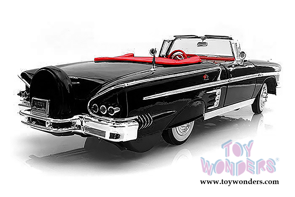 1958 chevrolet impala convertible by motormax timeless. Black Bedroom Furniture Sets. Home Design Ideas
