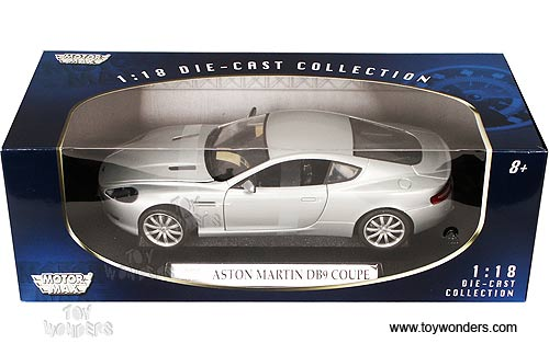 Motormax - Aston Martin DB9 Coupe (2006, 1:18, Silver) 73174
