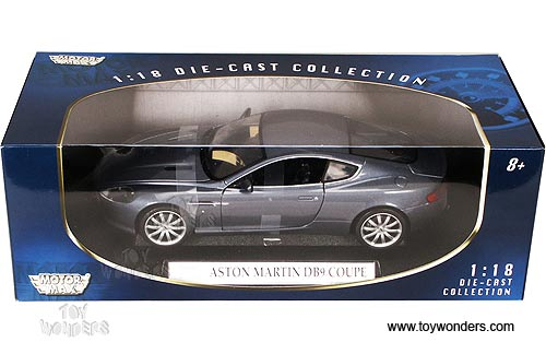 Motormax - Aston Martin DB9 Coupe (2006, 1:18, Blue) 73174