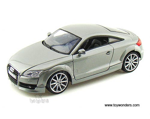 2007 audi tt coupe hard top by motormax 1 18 scale diecast. Black Bedroom Furniture Sets. Home Design Ideas