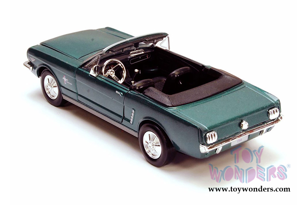 Maßstab 1:24 1964 Ford MUSTANG Convertible Cabrio Diecast Modellauto 73212 Rot