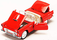 Show product details for Showcasts - Ford Thunderbird Convertible (1956, 1/24 scale diecast model car, Asstd.) 73215/16D