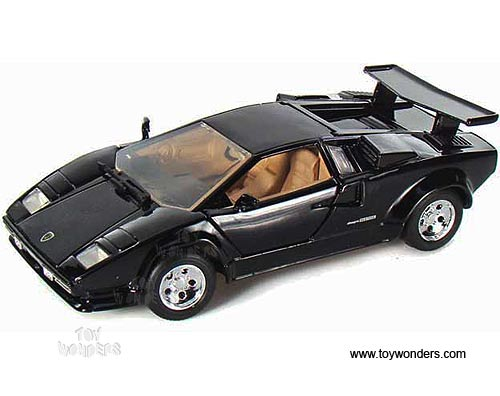 Lamborghini Countach Hard Top 73219bk 6 1 24 Scale Motormax Wholesale Diecast Model Car