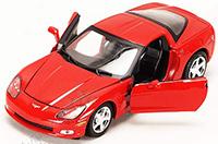 Show product details for Motormax - Chevy Corvette C6 Hard Top (2005, 1:24, Asstd.) 73270D