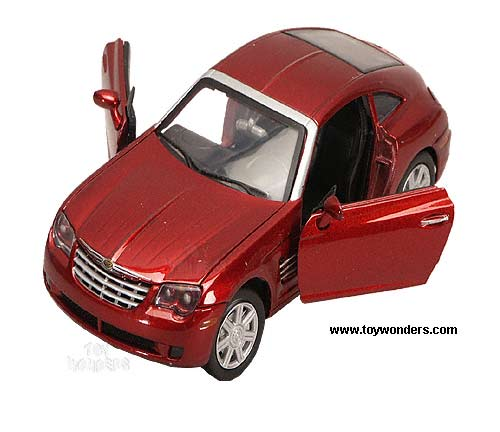 Chrysler Crossfire By Motormax 1/24 Scale Diecast Model