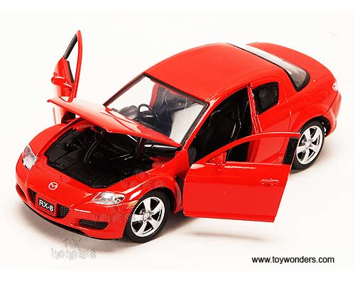 Diecast Collector Model Cars Showcasts Mazda Rx 8 Hard Top 1 24