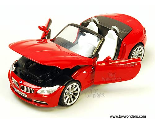 2010 Bmw Z4 Convertible By Motormax 1 24 Scale Diecast