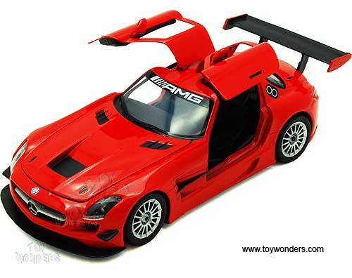 Mercedes benz sls amg gt3 hard top by showcasts 1 24 scale for Mercedes benz sls amg toy car