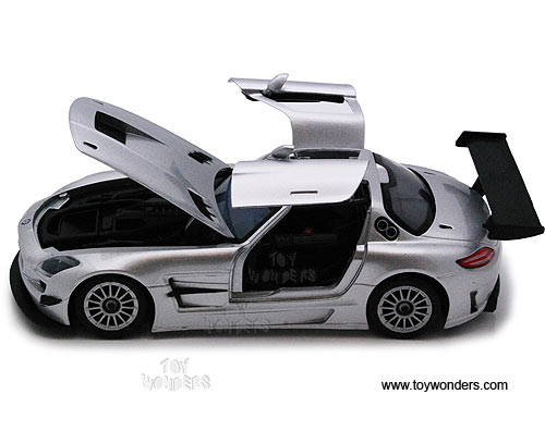 Mercedes benz sls amg gt3 hard top 73356sv 6 1 24 scale for Mercedes benz sls amg toy car