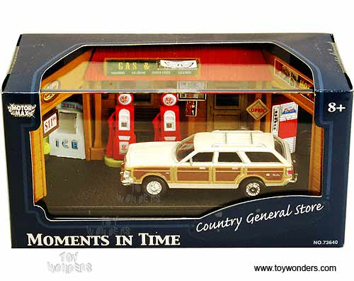 Box Diorama Country General Store Motormax on 1979 Chrysler Town And Country