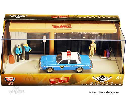 1983 The Usual Suspects At Rmx Airlines Diorama W Dodge