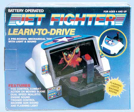 Learn To Drive Jet Fighter 7606