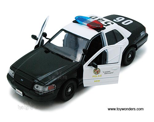 Motormax Ford Die Cast Police Car Mmx