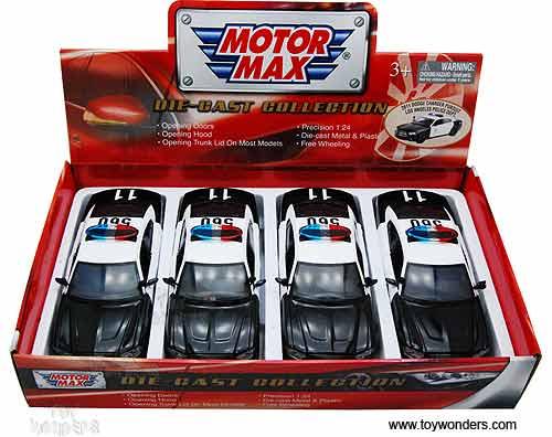 76947 16d 1 24 scale motormax wholesale diecast model car for Motor village dodge los angeles