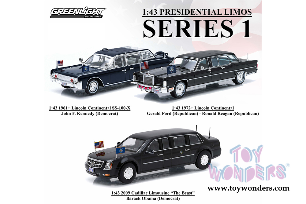 F150 Limo >> 1961 Lincoln Continental SS-100-X Limousine 86110A 1/43 ...