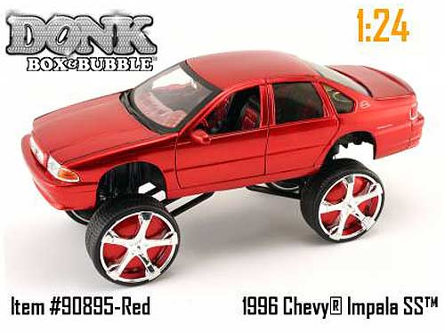 Diecast Collector Model Cars Jada Toys Donk Box Bubble Chevy