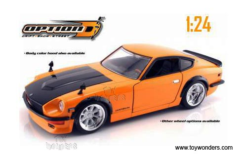 1972 datsun 240Z Hard Top by Jada Toys Option D 1/24 scale ...