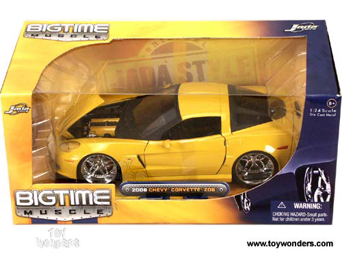 Jada Toys 2006 Dodge Magnum Rt 124 Scale: 2006 Chevy Corvette Z06 Hard Top 91183/12 1/24 Scale Jada