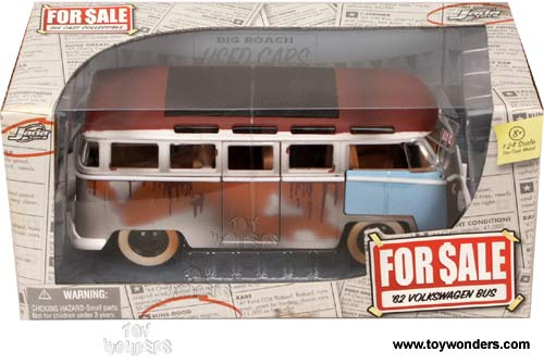 1962 volkswagen Bus by Jada Toys For Sale 1/24 scale diecast model