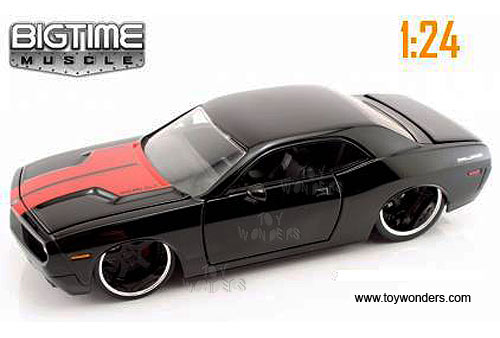 Jada Toys 2006 Dodge Magnum Rt 124 Scale: 2006 Dodge Challenger Concept Hard Top By Jada Toys