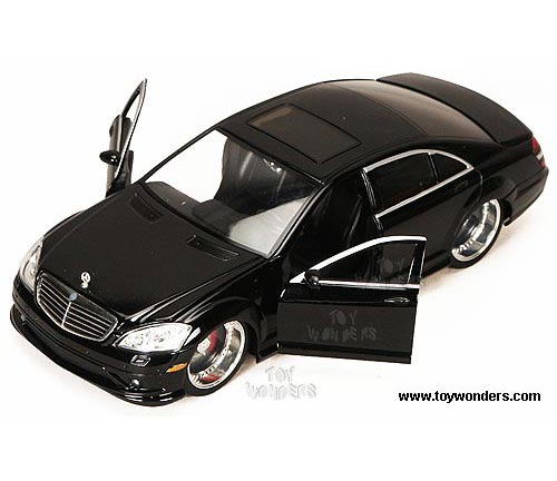 Jada Toys Bigtime Muscle - Mercedes-Benz S550 AMG Hard Top w/ Sunroof (2007,