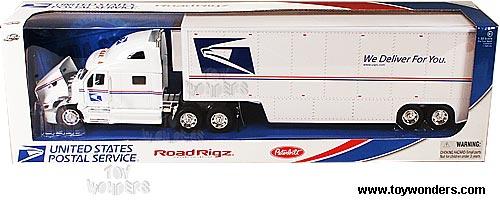 Jada Toys United States Postal Service Road Rigz - Peterbilt