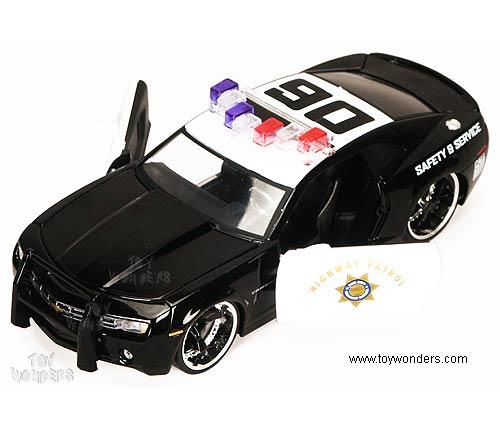 2006 chevy Camaro Concept Police Car by Jada Toys Dub City ...