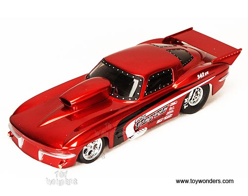 1963 chevy Corvette Stingray Funny Car Hard Top by Jada Toys