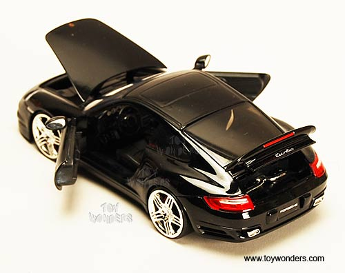 Diecast Collectibles Jada Toys Dub City Porsche 911 Turbo Hard Top
