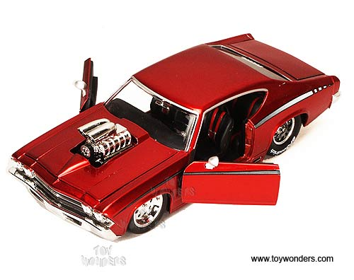 Jada Toys Bigtime Muscle Chevy Chevelle Ss Hard Top W Engine