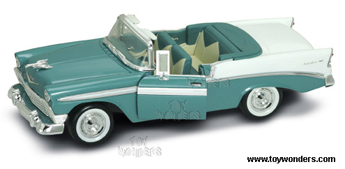 1956 chevy bel air convertible by yatming 1 18 scale. Black Bedroom Furniture Sets. Home Design Ideas