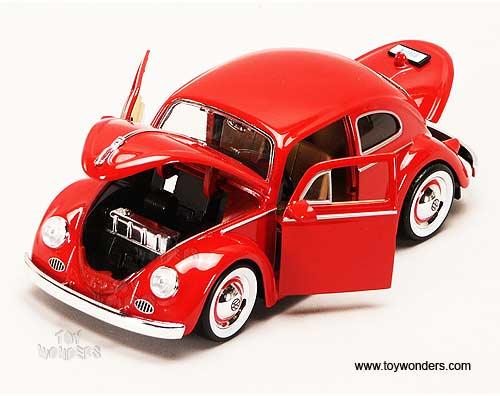 Jada Toys Showroom Floor Volkswagen Beetle Hard Top 1959 1 24 Scale Cast Car Models Td 92375mt