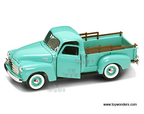 18 Toy Trucks : Gmc pickup truck gn scale yatming wholesale