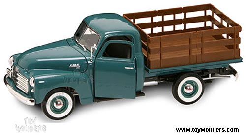 1950 gmc Pick Up Truck by Yatming 1/18 scale diecast model ...
