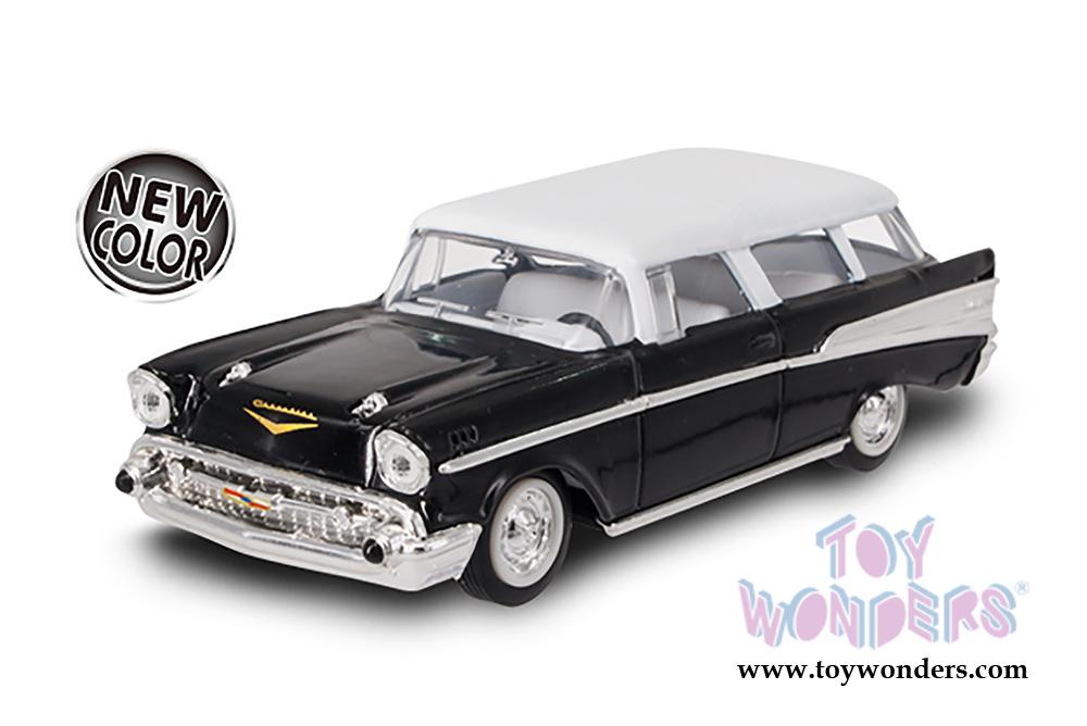 Lucky Road Signature - Chevrolet Nomad Hardtop (1957, 1/43 scale diecast  model car, Black) 94203BK