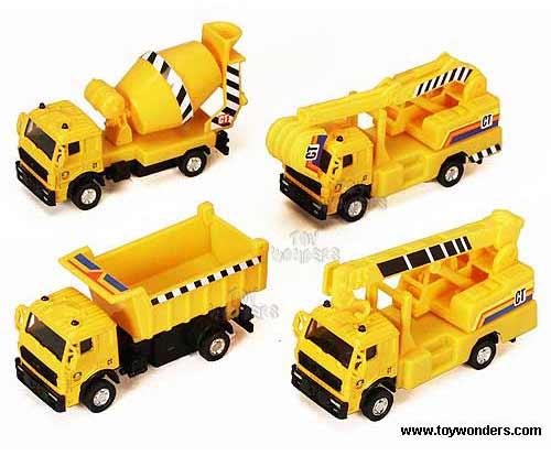Toy Construction Trucks : Construction trucks quot asstd wholesale toys and