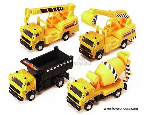 Toy Construction Trucks : Construction trucks quot asstd