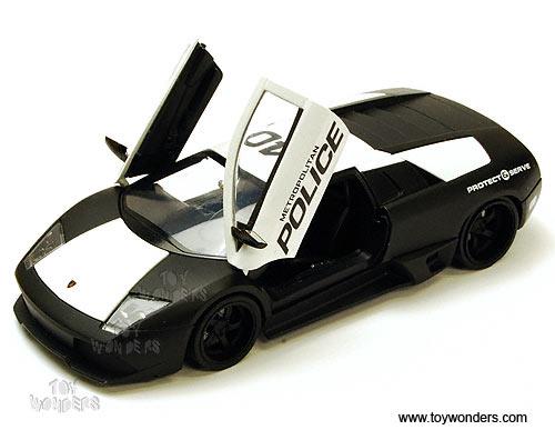 Lamborghini Murcielago Lp 640 Police Car 96320 1 24 Scale Jada Toys