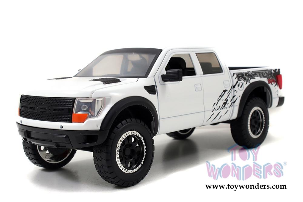 2011 ford f 150 svt raptor pickup 96867 1 24 scale jada toys bigtime kustoms wholesale diecast. Black Bedroom Furniture Sets. Home Design Ideas